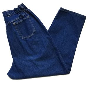 Vintage Congo Trader Elastic Ultra High Rise Jeans